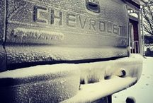 Chevy Trucks / My brother said that if I get a truck, get a Chevy!!  / by Stacey Carrick