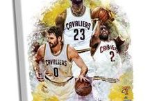 """Cleveland Cavaliers Win 2016 NBA Championship / LeBron led his team to win the 2016 NBA Championship, finally bringing a championship to his home state. Steiner Sports has memorabilia from the """"big three"""" and has designed products to celebrate this win. / by Steiner Sports"""