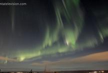 Auroras Boreales Fotos / Las auroras boreales, son un común fenomeno que se da en los cielos nocturnos del ártico en invierno. Hay muchas explicaciones científicas del porqué suceden, pero sigue habiendo algo de misterio a este hecho.