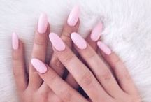 Nails ❤ / A woman is helpless only while her nail polish is drying .