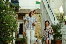 Moms & daughters / Madres e hijas / En Miss Valentina sabemos lo divertido que es ir vestida como mamá, por eso os damos la oportunidad de adquirir prendas coordinadas o iguales para madres e hijas