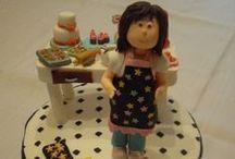 Mis tartas fondant / Estas son las tartas que me gusta hacer