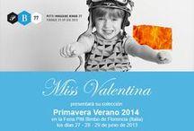 Pitti Bimbo 77. Firenze 2013 / Miss Valentina presenta su colección Primavera Verano 2014 en la feria Pitti Bimbo de Florencia