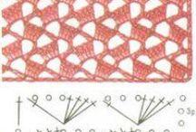 pontos em crochet / by Ana Gregório