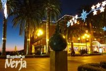 Nerja, Christmas / Although Nerja is a town more associated with summer it still makes an effort over the Christmas period.