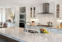 Colonial Countertop Projects / Colonial Countertops, based out of British Columbia, Canada, is a premier source of countertops and other decorative surfaces for commercial and residential use. Here are some of our many gorgeous projects to inspire your own.