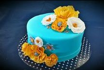 Celebration Cakes / Delectably pretty cakes for birthdays, wedding, anniversaries or any special occasion