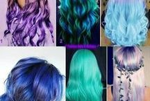 Hairstyles *-------* / Beautiful, lovely hairstyles, and colours Mine, and others [Own works --> later... ^^]