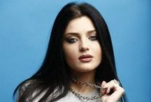 """Nina Sublatti   Georgia Eurovision 2015 / Nina Sulaberidze, better known by her stage name Nina Sublatti, is a Georgian singer, songwriter, calligrapher and model who represented Georgia in the Eurovision Song Contest 2015 with the song """"Warrior""""."""