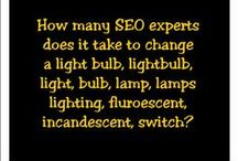 SEO Humor / Jokes, funny stories, and other humorous things relating to search engine optimization (SEO).