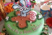 Boj Cakes / Inspiration for Boj birthday cakes. As seen on CBeebies and Sprout.
