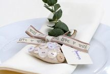 Wedding Favours / Inspiration for the little touches on your big day.