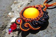 Soutache jewelry -GinaArt Design / https://www.facebook.com/KezmuvesKincsek/