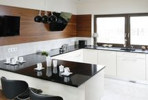 Interiors * Kuchnia z oknami