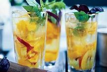 Summer Cool Cocktails / What is a summer get-together with out some amazing cocktails? Great ideas of drinks to serve.