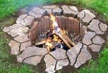 Fire Pits Ideas / What's better then a fire pit on a cool night? Nothing!