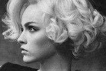 Hair & Make-up / Inspirations coiffures et maquillages mariées / by La Fabrique à Rêves