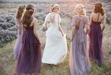 Purple Pink & White Wedding / Inspiration pour un mariage dans les tons naturels, blanc, lin, avec des touches de rose pastel, violet, lilas