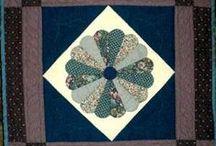 Dresden plate quilts / Dresden plate