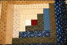 Log cabin quilts / Log cabin quilts