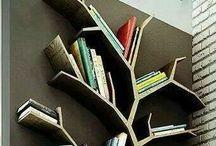 Biblioteket / Inredningsförslag för vårt blivande bibliotek