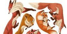 kettuja, foxes