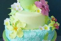 MY ISLAND STYLE CAKE / Island theme cakes