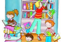 RINCÓN DE CUENTOS / Crear espacios donde puedan convivir y leer cuentos  niños de diferentes edades fomentando compartir momentos de lecturas y también de aprendizaje cooperativo e interdisciplinar. Cualquier rincón puede convertirse en un espacio para la imaginación. Un   espacio pequeño se convertirá en algo especial que invite a la lectura. Muchas ideas llenas de magia y de cuentos!!!...¿qué hay mejor?   / by VICTORIA SANCHEZ SALCES