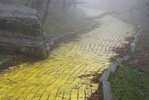 Follow The Yellow Brick Road / Wizard of Oz Inspired Images