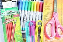 Back To School / My favourite part of the school year is to shop for new supplies. New year, new start.