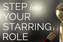 Step into Your Starring Role / All things #SIYSR...inspiration + amazing femmes to start.