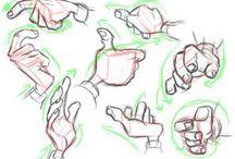 Character anatomy - hands