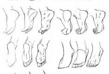 Character anatomy - feet