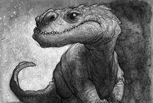 Creatures ref - dragon/dinosaur