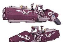 Weapon ref - Guns