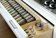 In the Kitchen / Beautiful kitchen and clever ideas....