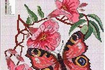 λουλουδια /πεταλουδες