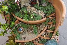Idée jardin / Pot fleuri