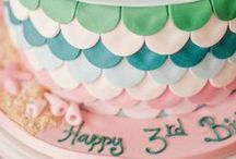 Mermaid Birthday Party / Mermaid birthday party ideas. Used these for our toddler's third birthday and she loved it! Ocean theme ideas too.
