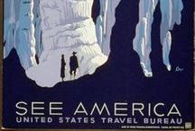 Travel Posters / Cool vintage and modern travel posters to inspire.