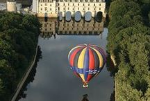 Les châteaux de la Loire autour de mes chambres d'hôtes / Les lieux historiques de la vallée de la Loire que vous pourrez visiter à une demi-heure de mes chambres d'hôtes de charme