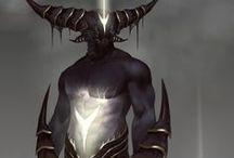 creature inspirations - horns