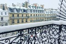 Il neige..