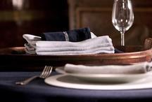 Table Decoration / Over mooie gedekte tafels met zowel, runner, tafelkleden en accesoires.