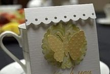 gift card holders/ favors