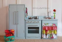 play kitchen / by Evangeline Lacy