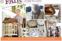 Country Living Fair / The pages of Country Living Magazine come to life! With over 200 vendors it's a shoppers paradise. Antiques, crafts, home and garden collections and so much more make this a special event for those who attend.