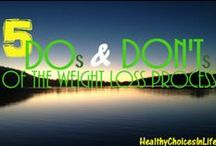 Losing Weight / by HealthyChoicesInLife