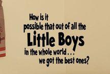 Mum to boys
