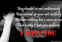 I Hate You: Messages, Quotes and Poems WishesMessages.com / I Hate You: Messages, Quotes and Poems by WishesMessages.com.